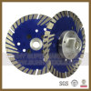 Diamond Segment-Protected Saw Blade for Stone Cutting