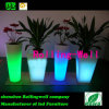 Colorful Square Big LED Flowerpot with Ce, RoHS Certification