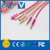 Fashion Nylon 3.5mm Male to 3.5mm Female Audio Cable