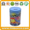 Spongebob Round Gift Tin Coin Bank Metal Money Tin Box