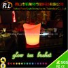 Bar Furniture RGB Color Changing Glowing Illuminated Ice Bucket