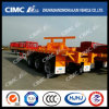 40FT 3axle Flatbed Trailer with Cutting-off Rear (easily reassemble/weld)