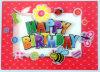 Printing Good Quality Plastic 3D Birthday Greeting Invitation Card