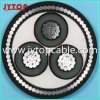 High Voltage18/30kv Aluminum Conductor XLPE Insulated Steel Wire Armored Cable