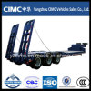 Cimc 3 Axle 50 Ton Low Bed Truck Trailer Detach Lowbed
