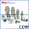 ISO Quick Coupling (Steel) and Stainless Hydraulic Quick Coupler