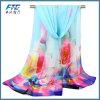 High Quality Flower Printed Silk Chiffon Infinity Spring Scarf