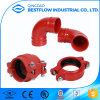 Ductile Iron FM&UL Approved Grooved Fittings 90deg Elbow