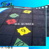 Certificated Outdoor Bright Color Rubber Flooring