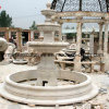 Beige Stone Sculpture Marble Fountain for Garden Decorate (SY-F064)