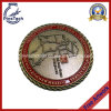 Challenge Coin with 3D Rope Edging