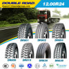 Gcc Approved Double Road Radial Truck Tires 12.00r24 1200r24
