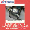 Steamer Pot 2 Layers with Glass Lid QC and Inspection Service in China
