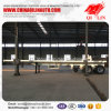 Chinese Famous Brand Qilin 20FT 40FT Flatbed Container Semi Trailer