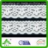 Scallop Edge Clothing Decoration Plain Style Elastic Lace