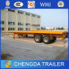 2 Axle 40ft Flatbed Semi Trailer Chassis for Sale