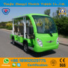 Zhongyi 8 Person Enclosed off Road Battery Powered Classic Shuttle Sightseeing Electric Bus with Ce Certificate
