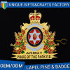 China Factory OEM Logo Printing Fast Shipping Aluminum Metal Lapel Pins