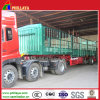 3 Axle Bulk Goods Transport Cargo Fence Semi Trailer for Sale