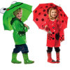 Cute Creative Animal Cartoon Straight Kid Umbrella