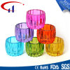 Colorful Chinese Style Cylinder Shape Tealight Glass Candle Holder (CHZ8020)