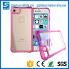 for iPhone 6s Plus Case Soft TPU and Transparent Acrylic Colorful Candy Phone Case