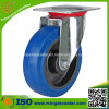 High Quality Elastic Blue Rubber Wheel for Waste Bin