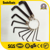 6PCS SAE/Metric Hex Key Allen Ring Wrench Set