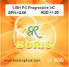 1.591 Polycarbonate Lens PC Progressive Hc Optical Lenses