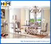 New Modern furniture Square Marble Dining Table (HC2312)