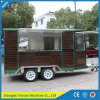 Wooden Material Mobile Coffee Truck