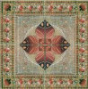 Flower Pattern Carpet Tile Polished Crystal Ceramic Floor Tile 1200X1200mm (BMP52)