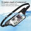 Waterproof Reflective Fanny Pack Waist Belt Bag Support Fingerprint Scan