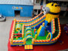 Giant Minions Inflatable Obstacle Course Playground Chob529