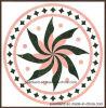 Round Pattern Polished Porcelain Tile