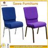 Foshan Factory Wholesale Aluminum Church Chair with Armrest