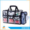 Hot Sell Clear PVC Cosmetic Bag Transparent PVC Cosmetic Bag with Shoulder Strap