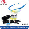 Interchangeable PC Lens Racing Comes with Accessories for Eye Protection Eyewear