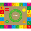 Children Learning ABC Joyful Floor Mat