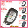Flip Remote Key for Hyundai IX30 with 3 Buttons Fsk 433MHz