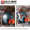 Price and Technical Data of 9t 9000kg Diesel Oil Steam Boiler