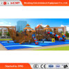 OEM/ODM Orders Outdoor Playground Slide Exercise Wooden Equipment (HD-MZ056)