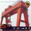 Mg Main Double Girder Gantry Crane with Hook 40ton