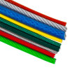 Red Colour PVC Coated PVC Steel Wire Rope