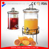 Wholesale Glass Wine Pickle Making Jar Dispenser in High Quality