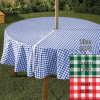 Zippered Table Cloth, PE/ PVC/ PEVA Table Cloth, Flannel Table Cloth