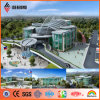 Philippines Famous Building Silver PVDF Aluminum External Facade Panel (AF-403)