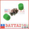 Round Type Fiber Optical FC/APC Adapter