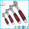 45# Steel European Type Adjustable Wrench