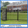 Galvanized Black Classic Garden Steel Picket Fence